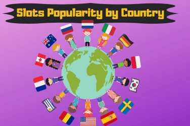 Slots Popularity By Country