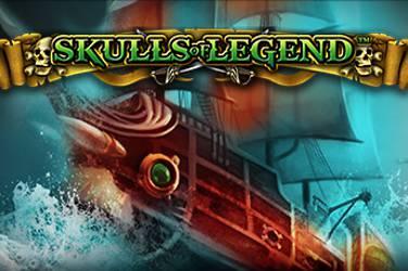 Skulls of legend slot logo